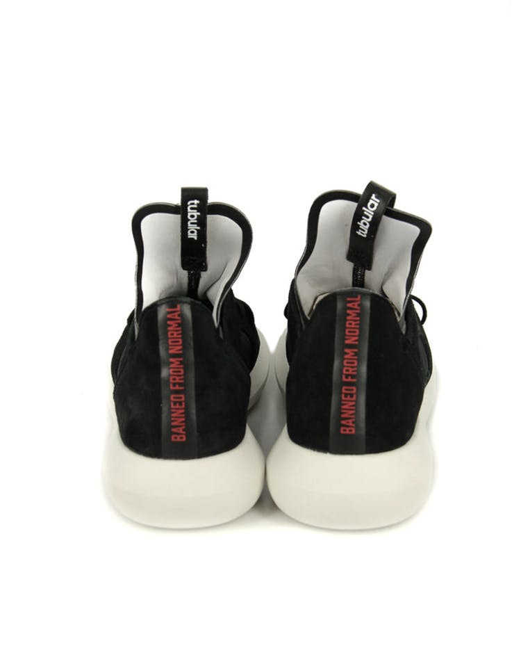 new concept f8df4 c071d Adidas Originals By Rita Ora Women s Tubular Defiant Black white