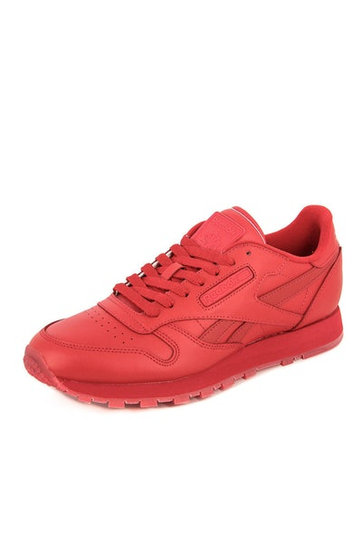 Reebok CL Leather Solids Red/Red