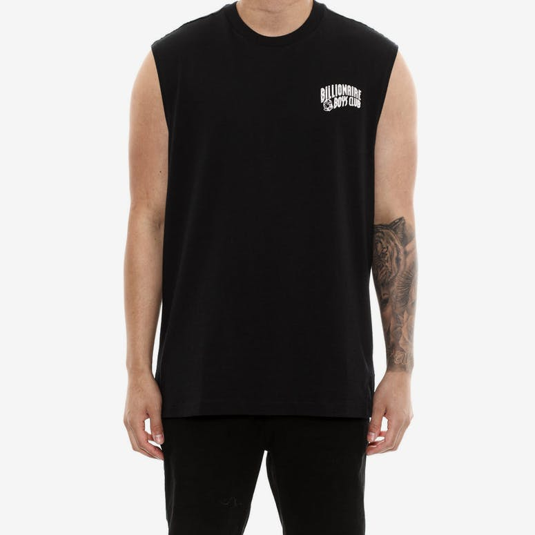 Billionaire Boys Club Small Arch Logo Muscle Tank Black/pink