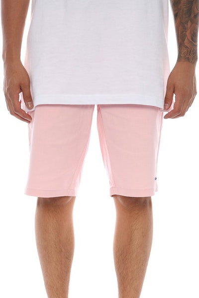 Sly Guild Twill Port Short Pink