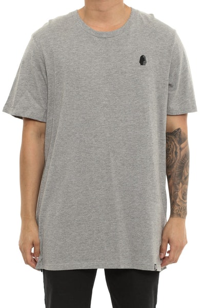 Last Kings Egypt Embroidery Tee Grey Heather