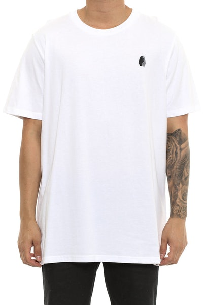 Last Kings Egypt Embroidery Tee White