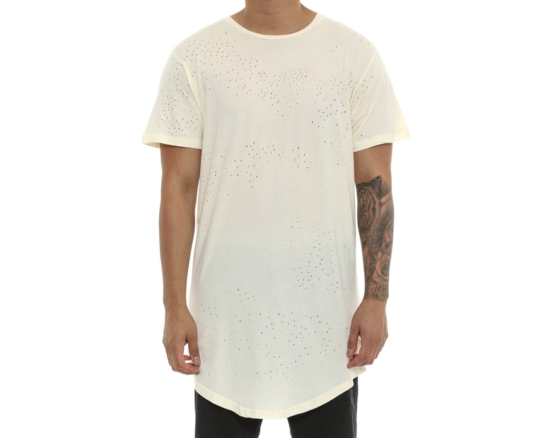 Axel Blasted Drop Tee Cream