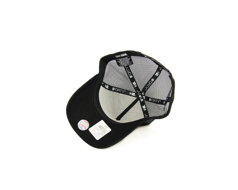 New Era Dodgers 940 A-frame Trucker Black/white