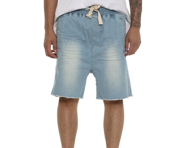 Thing Thing Steady Denim Short Ice Blue