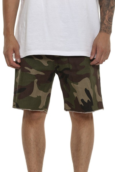Thing Thing Heist Short Dark Green Camo