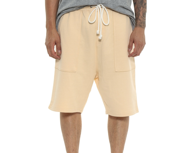 Saint Morta Dropcrotch Short Beige