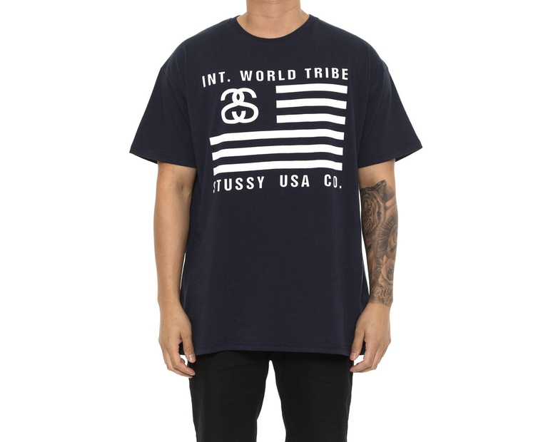 Stussy Usa Co. SS Tee Navy