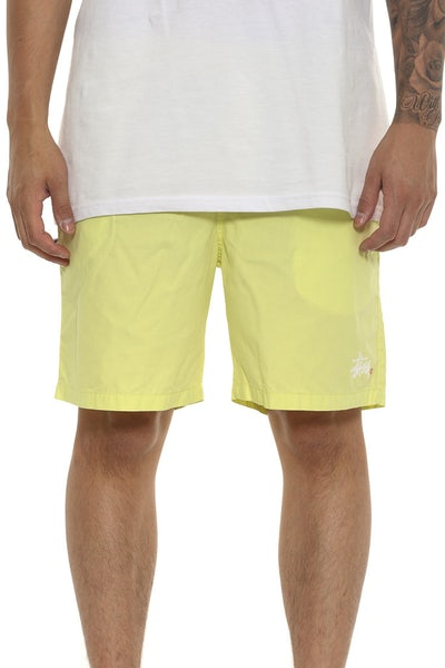 Stussy Graffiti Beachshort Yellow