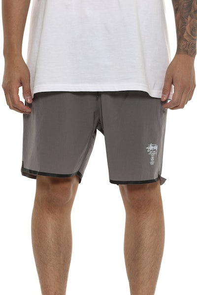 Stussy Starter Up Sport Short Charcoal