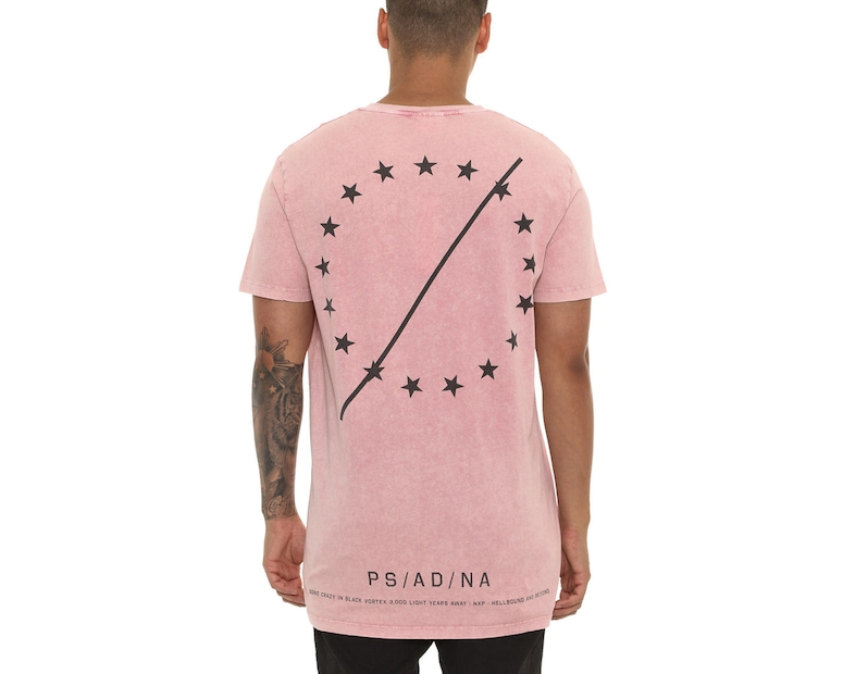 Nena and Pasadena Unified Tall Tee Pink