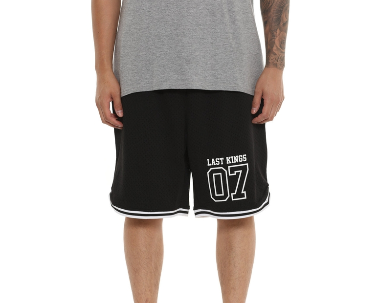 Last Kings Basketball Short Black