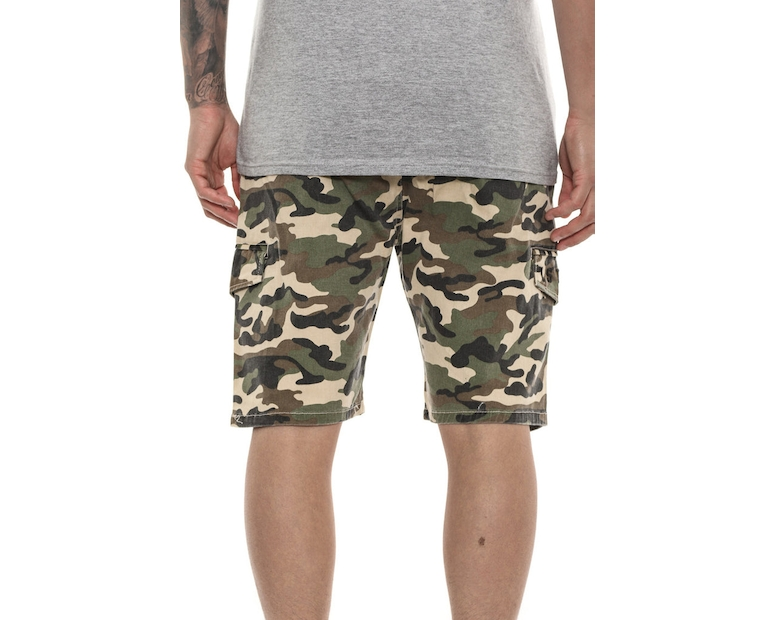 Last Kings Cargo Shorts Camo