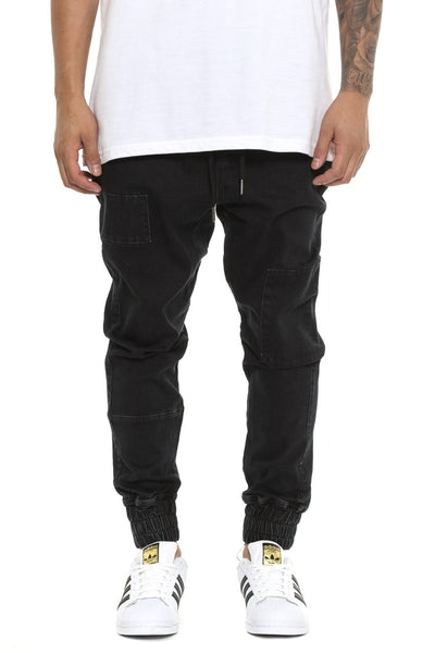 Patched Faker Jean Black