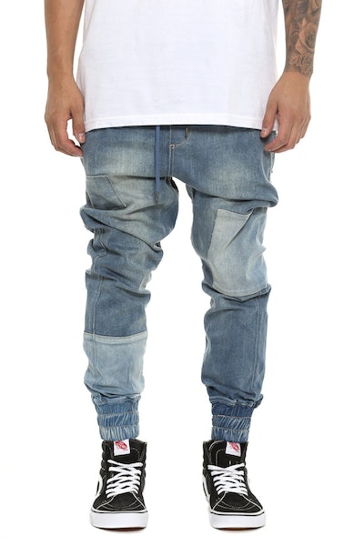 Patched Faker Jean Blue