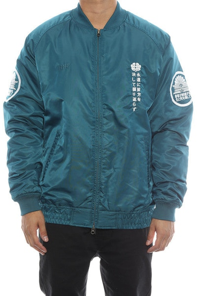 10 Deep Night Rider Jacket Teal