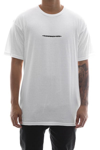 10 Deep Cancelled Tee White