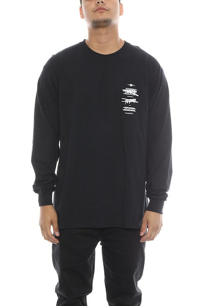 10 Deep Wth? Stack Long Sleeve Black