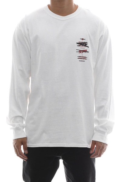 10 Deep Wth? Stack Long Sleeve White