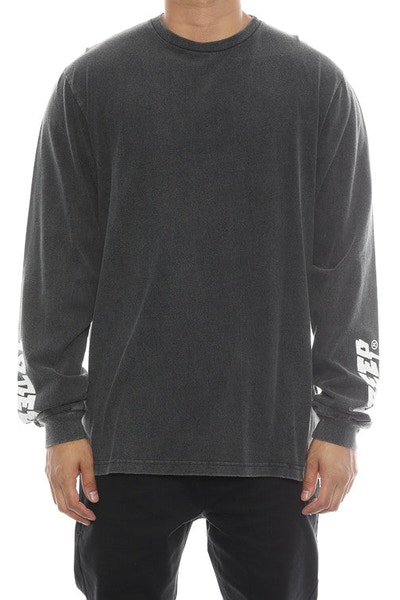 10 Deep Sound & Fury Vintage Long Sleeve Tee Black
