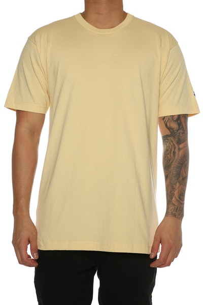 Undefeated Felt Patch Strike Tee Tan
