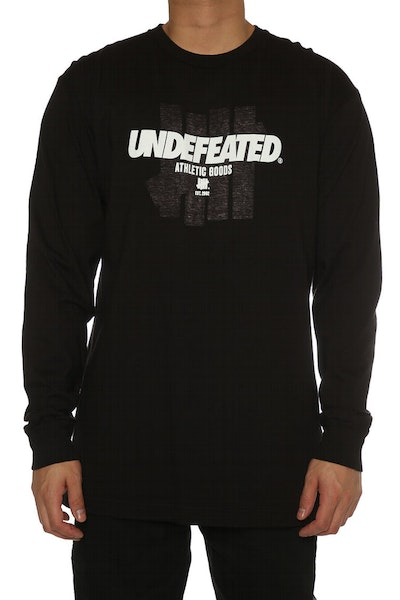 Undefeated Reloaded Long Sleeve Tee Black