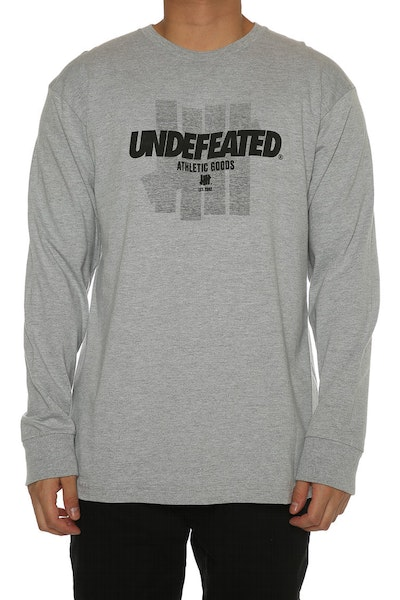 Undefeated Reloaded Long Sleeve Tee Grey