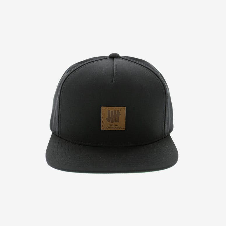 Undefeated Goods Cap Black – Culture Kings 5aae3ff0880