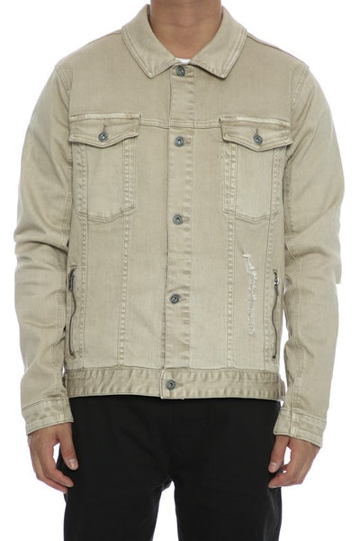 Zanerobe Greaser Denim Jacket Beige