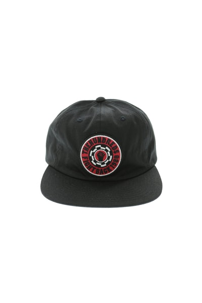 The Hundreds Tone Strapback Black