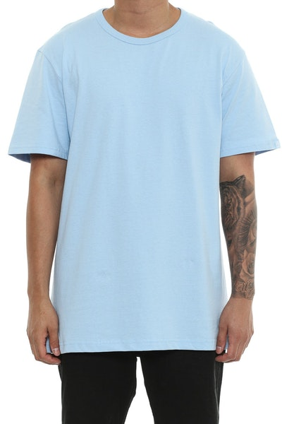 Well Made MJ Basic Tee Blue