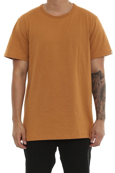 Well Made MJ Basic Tee Camel