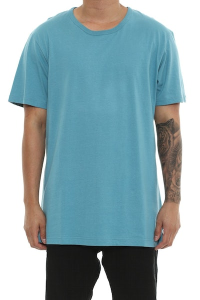 Well Made MJ Basic Tee Turquoise