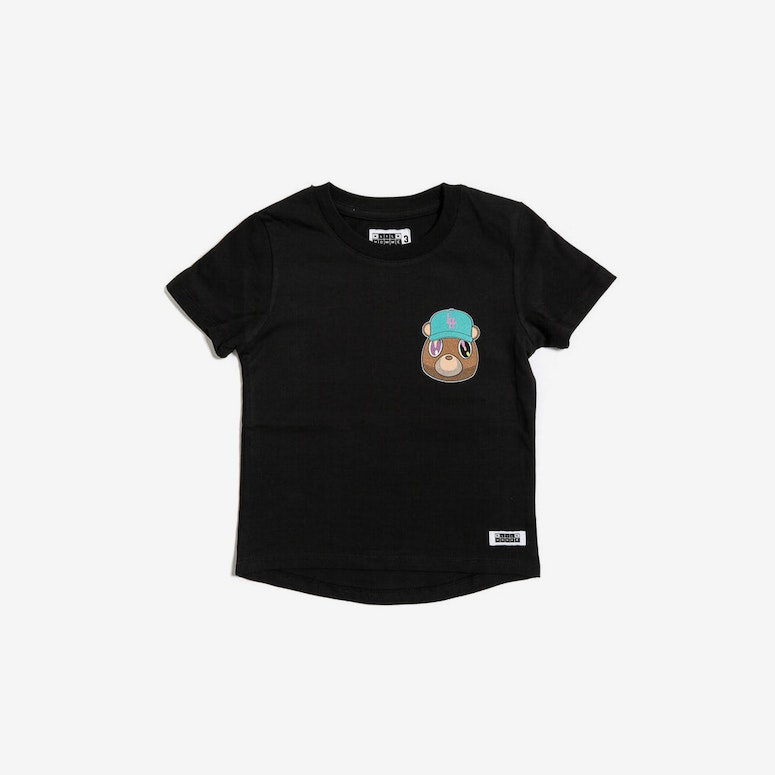 Bear Droptail Tee Black