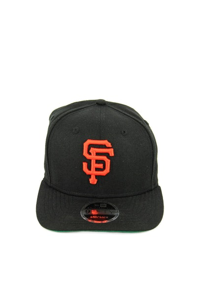 New Era Giants 950 Precurved Original Fit Snapback Black/Orange