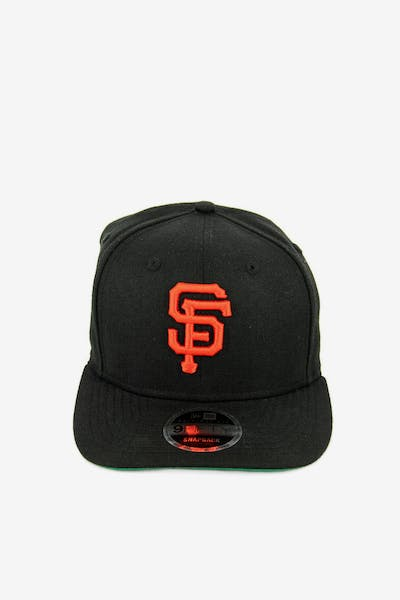 New Era Giants 9FIFTY Precurved Original Fit Snapback Black/Orange