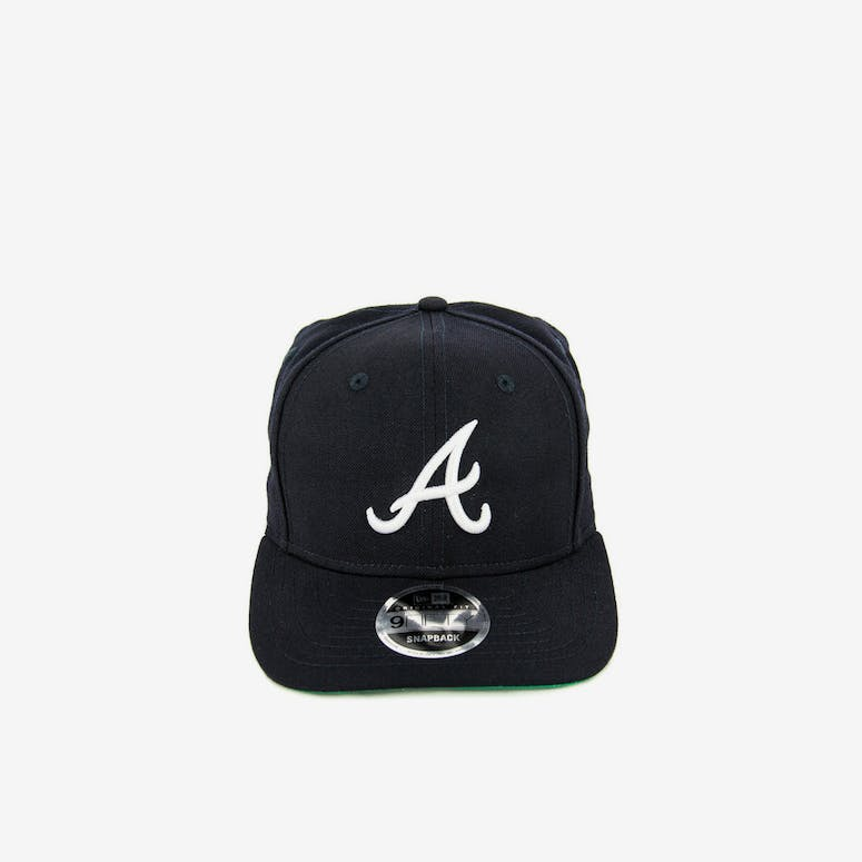 New Era Braves 9FIFTY Precurved Original Fit Snapback Navy white – Culture  Kings d857bb2ba8c