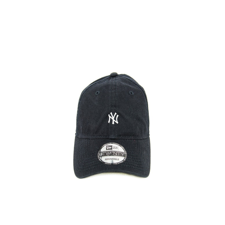 New Era Yankees 920 Mini Leather ST Navy/white
