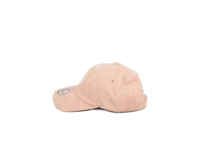 Bulls Suede Slouch Strapback Pink