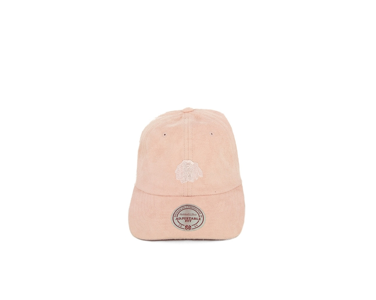 Blackhawks Suede Slouch ST Pink