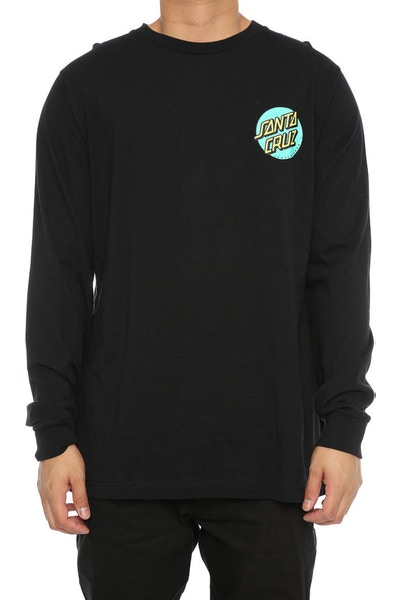 Santa Cruz Rasta Hand Long Sleeve Black