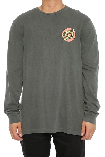 Santa Cruz Rasta Hand Long Sleeve Charcoal