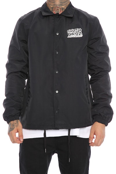 Santa Cruz Dressen Hand Coach Jacket Black