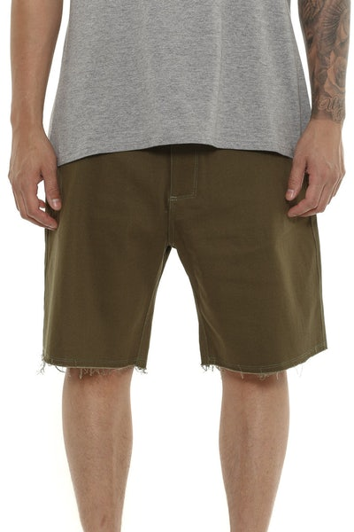 Carre See Short Olive