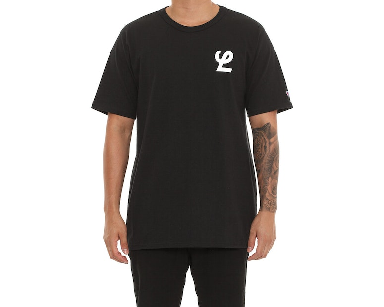 Champion X Lower Heritage Tee Black