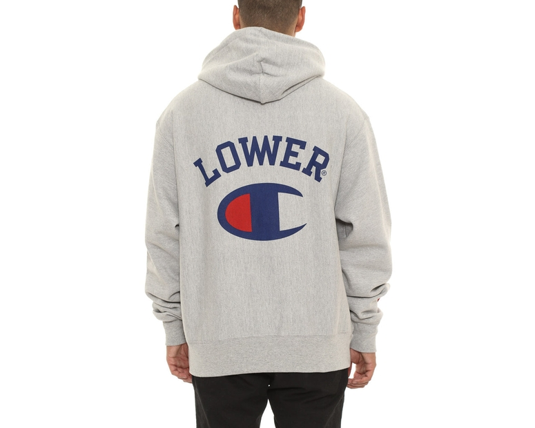 Champion X Lower Reverse Weave Hood Silver