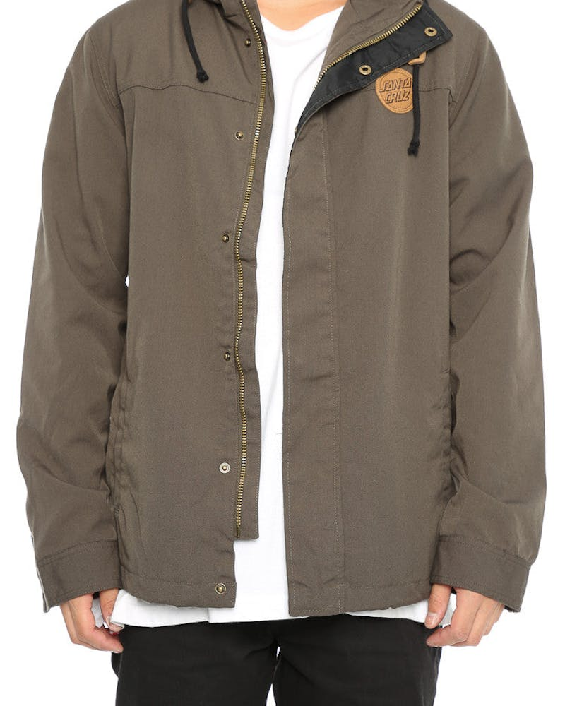 Santa Cruz Aptos Anorak Dark Green