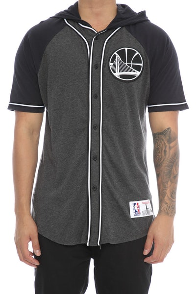 Mitchell & Ness Warriors Keeping Score Short Sleeve HD Charcoal
