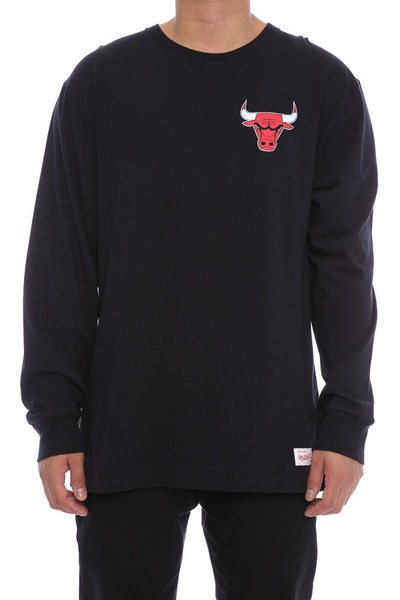 Bulls Triple Double Long Sleeve Black