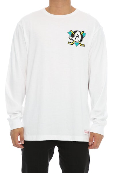 Ducks Triple Double Long Sleeve White